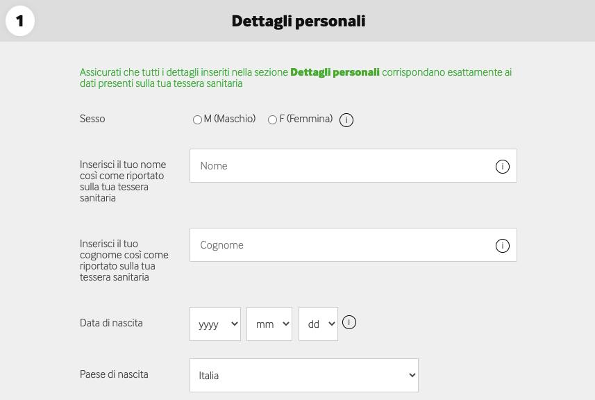 Betway Registrazione